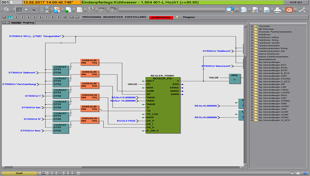 - Vistwo 工控平台采用IEC61131标准和控制器相连 -